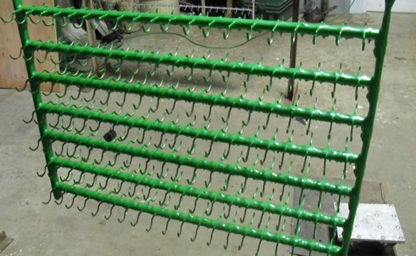 Plastisol Plating Racks Terawatt Specialist In Rubber